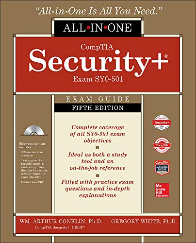 CompTIA Security+ All-in-One Exam Guide, Fifth Edition (Exam SY0-501) von McGraw-Hill Education