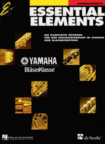 Essential Elements, Lehrerhandbuch von De Haske International