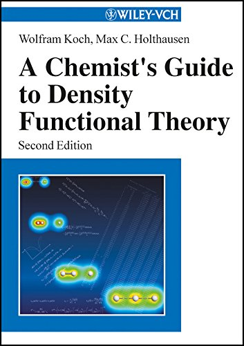 A Chemist's Guide to Density Functional Theory 2e