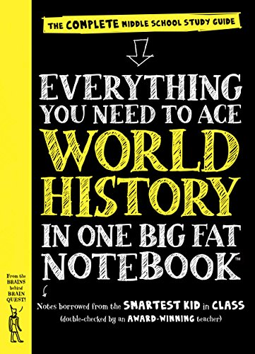 EVERYTHING YOU NEED TO ACE WOR (Big Fat Notebooks) von Workman Publishing Company