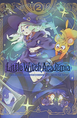Little Witch Academia, Vol. 2 (manga) von Yen Press