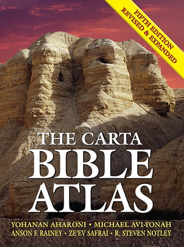 The Carta Bible Atlas von CARTA