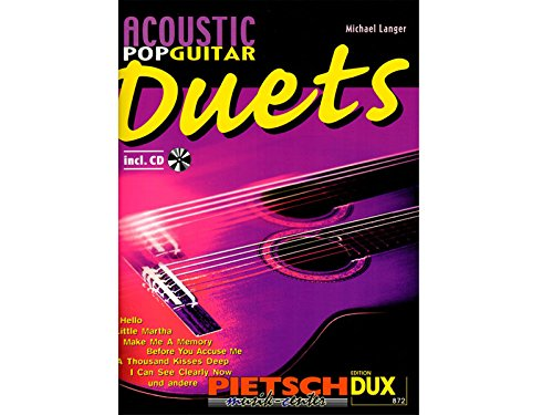 Acoustic Pop Guitar Duets. Gitarre
