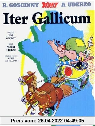 Asterix - Lateinisch: Asterix latein 05 Iter Gallicum: BD 5