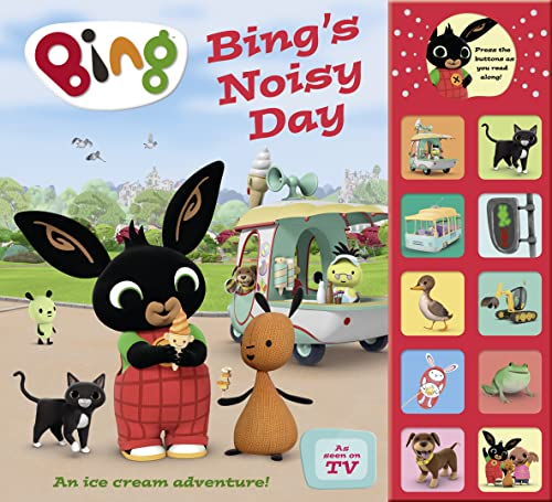Bing's Noisy Day: Interactive Sound Book von Harpercollins Uk; Harpercollins Children'S Books