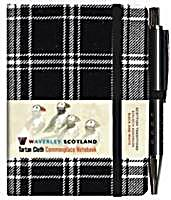 Black and White Tartan Mini with Pen Scottish Traditions