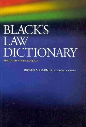 Black's Law Dictionary von West Academic Publishing