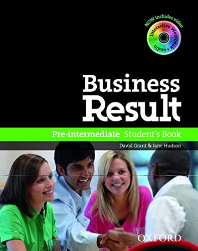 Business Result DVD Edition: Pre-Intermediate/Pack: Student's Book with Interactive Workbook