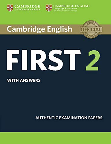 Cambridge English First 2: Student's Book with answers