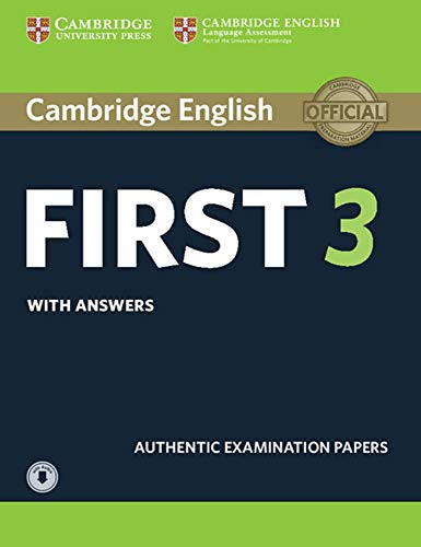 Cambridge English First 3: Student's Book with answers and downloadable audio von Klett Sprachen