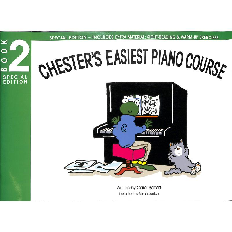 Chester's easiest piano course 2 - special edition
