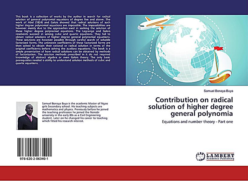 Contribution on radical solution of higher degree general polynomia