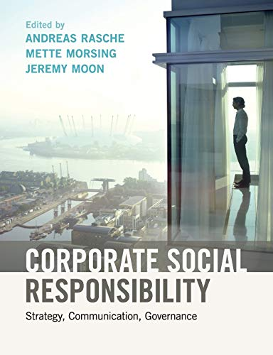 Corporate Social Responsibility: Strategy, Communication, Governance von Cambridge University Press