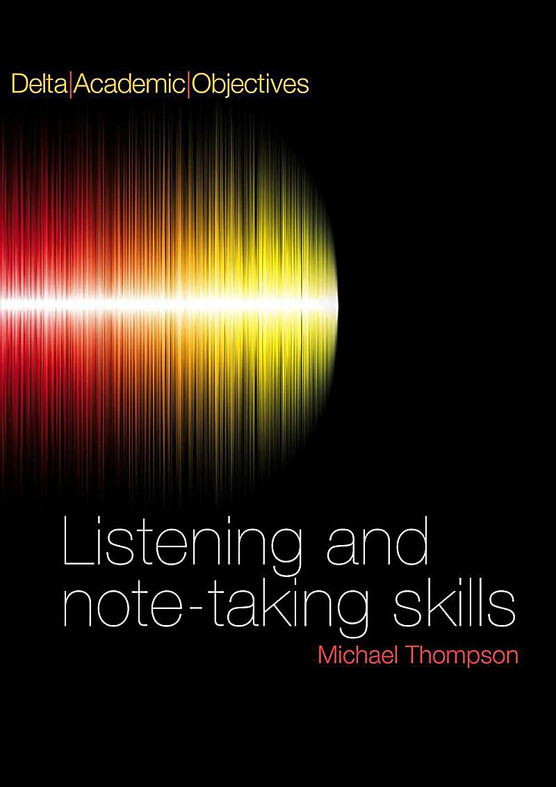 Delta Academic Objectives - Listening and Note Taking Skills B2-C1, Coursebook with 3 Audio-CDs