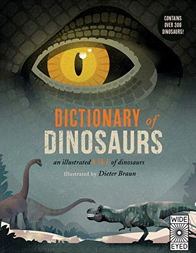 Dictionary of Dinosaurs: an illustrated A to Z of every dinosaur ever discovered von Wide Eyed Editions