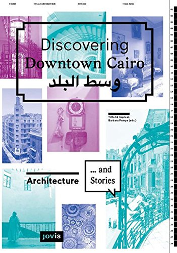 Discovering Downtown Cairo.: Architecture and Stories von Jovis Verlag GmbH