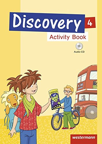 Discovery 1 - 4: Ausgabe 2013: Activity Book 4 mit Audio-CD