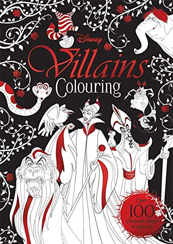 Disney Classics - Mixed: Villains Colouring (Villains Colouring Disney) von Bonnier Books Ltd