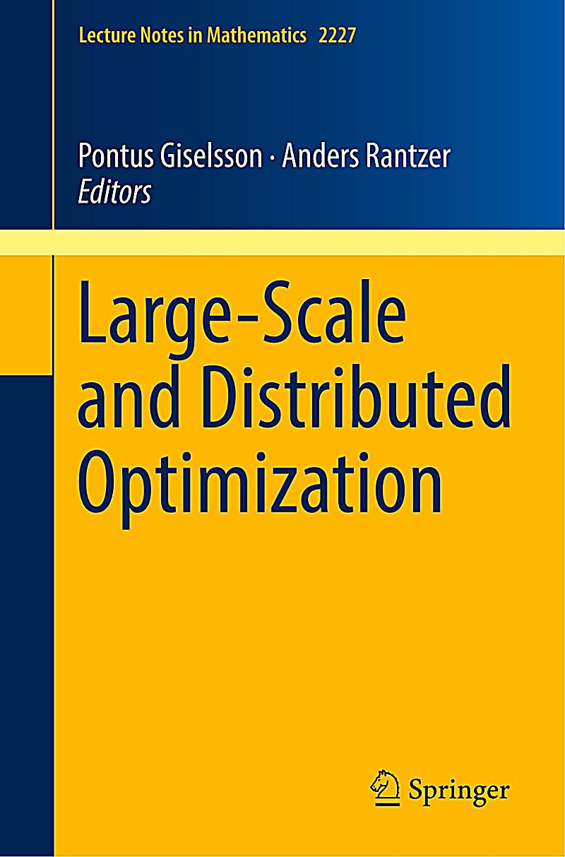 Large-Scale and Distributed Optimization