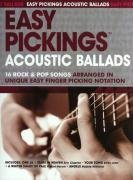 Easy Pickings: Acoustic Ballads: Noten, Tabulatur für Gitarre von Music Sales Limited