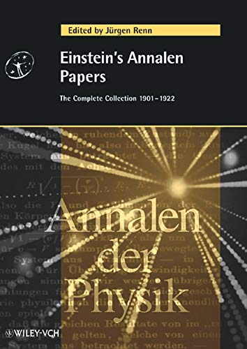 Einstein's Annalen Papers. The Complete Collection 1901-1922