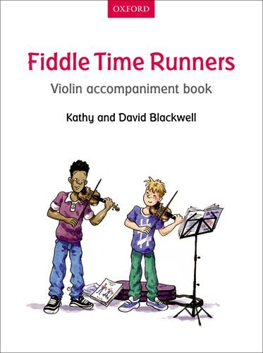 Fiddle Time Runners Violin Accompaniment Book von Oxford University Press Distribution Services