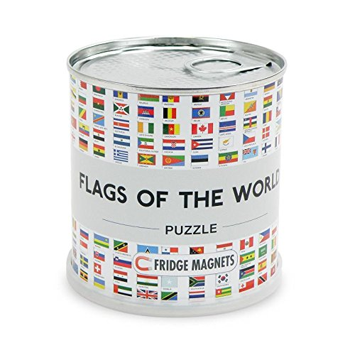 Flags of the world puzzle magnets von Extra Goods