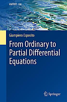 From Ordinary to Partial Differential Equations