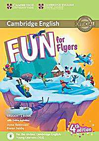 Fun for Flyers (Fourth Edition) - Student's Book with Audio-CD and online activities