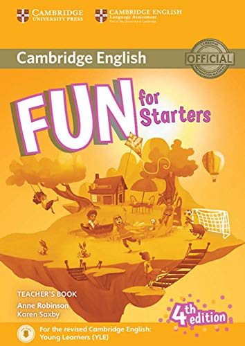Fun for Starters 4th Edition: Teacher's Book with downloadable audio von Klett Sprachen