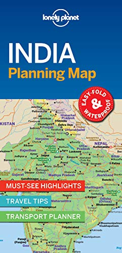 India Planning Map (Lonely Planet) von Lonely Planet Publications