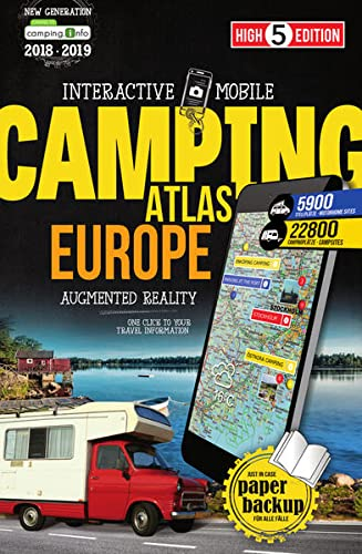 Interactive Mobile CAMPING ATLAS Europe: Camping-Atlas Europa 1:800 000 (High 5 Edition CAMPING Collection) von High 5 Edition
