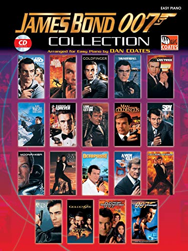 James Bond 007 Collection: Book & CD: Easy Piano (Easy Piano (Warner Bros.))