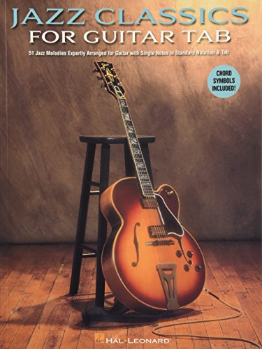 Jazz Classics for Guitar Tab von Hal Leonard Publishing Corporation