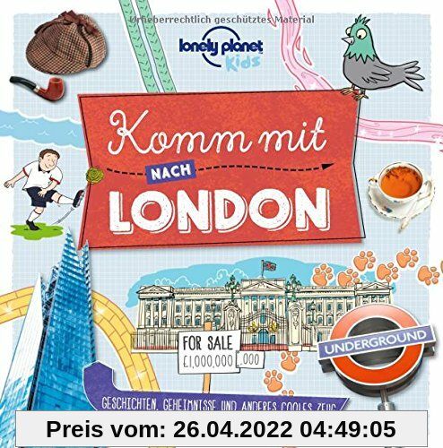 Komm mit nach London (Lonely Planet Kids) (Lonely Planet Kids Komm mit)