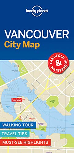 Vancouver City Map (Lonely Planet City Map) von Lonely Planet
