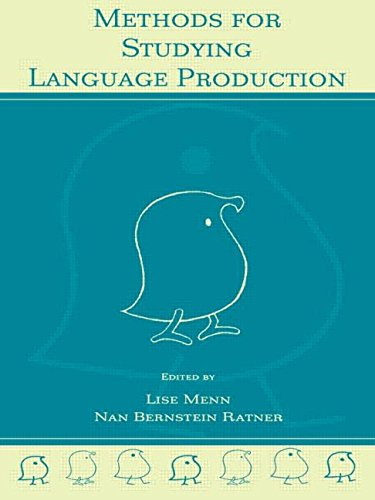 Methods for Studying Language Production von Lawrence Erlbaum