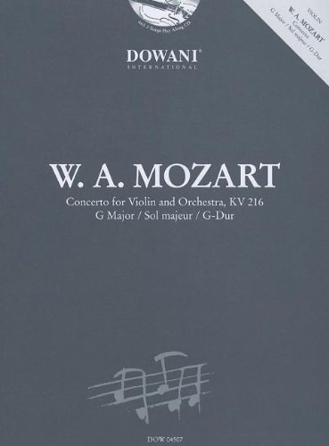 Mozart: Concerto for Violin and Orchestra Kv 216 in G Major von Dowani International