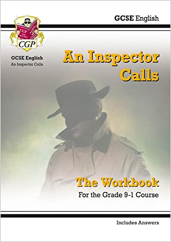 New Grade 9-1 GCSE English - An Inspector Calls Workbook (in von Coordination Group Publications Ltd (Cgp)