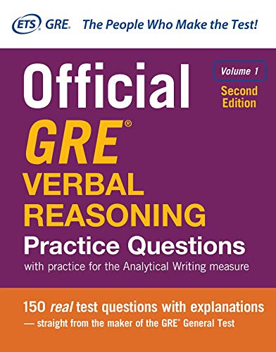 Official GRE Verbal Reasoning Practice Questions, Volume 1: with practice for the Analytical Writing measure von McGraw-Hill Education Ltd