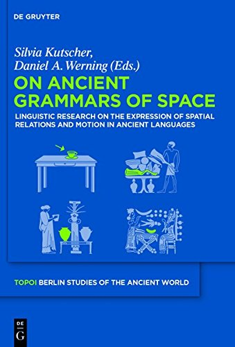 On Ancient Grammars of Space: Linguistic Research on the Expression of Spatial Relations and Motion in Ancient Languages (Topoi – Berlin Studies of ... – Berliner Studien der Alten Welt, Band 19) von Gruyter, Walter de GmbH