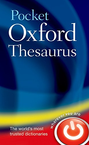 Pocket Oxford Thesaurus von Oxford University Press