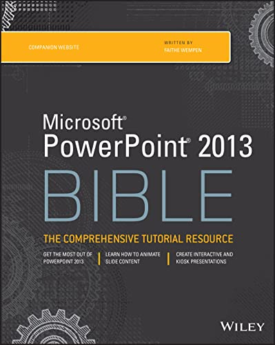 PowerPoint 2013 Bible von Wiley