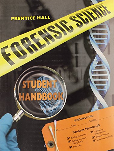 Prentice Hall Forensic Science Student Study Guide & Lab Manual von PRENTICE HALL