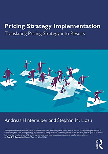 Pricing Strategy Implementation von Routledge