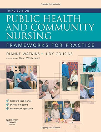 Public Health and Community Nursing: Frameworks For Practice von Bailliere Tindall