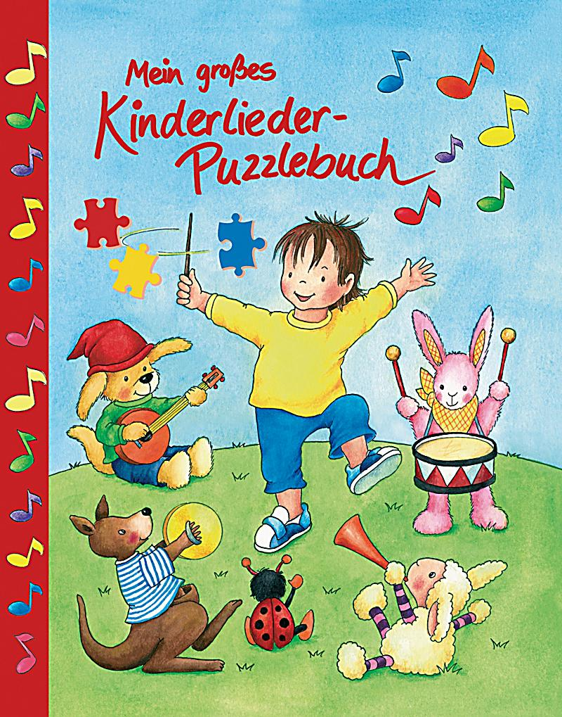 Puzzlebuch Kinderlieder mit Audio-CD