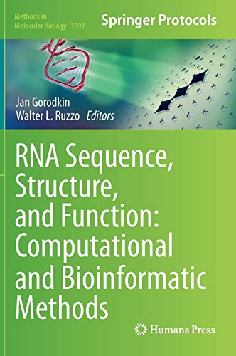 RNA Sequence, Structure, and Function: Computational and Bioinformatic Methods (Methods in Molecular Biology, Band 1097) von Springer, Berlin; Humana Press