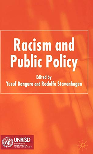 Racism and Public Policy von Palgrave Macmillan