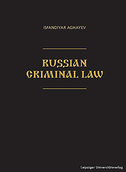 Russian Criminal Law